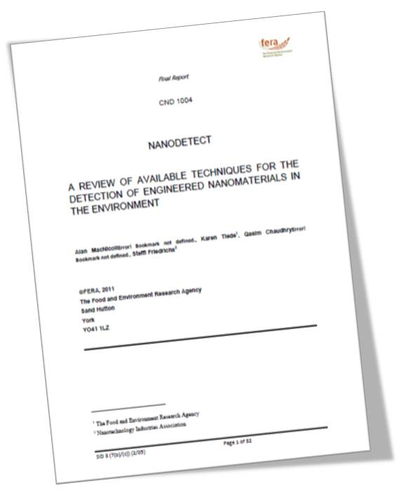 NIA NanoDetect Report